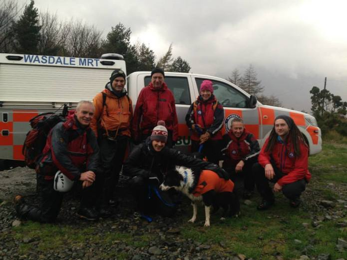 Jasper, Adam and Wasdale Mountain Rescue Team