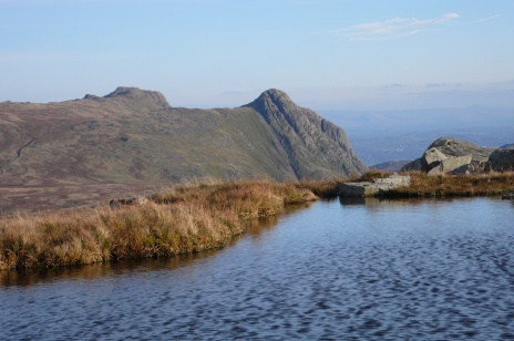 Pike O'Stickle from Glaramara Tarn
