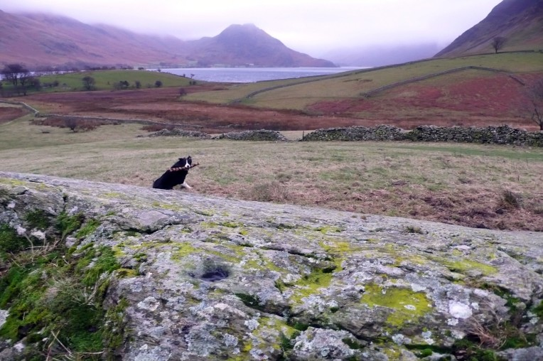 Windy Crummock Solstice 016