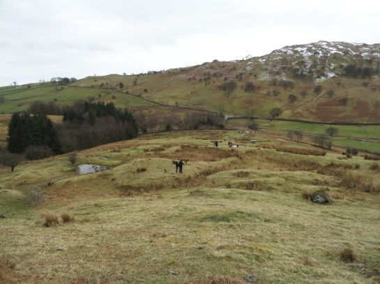 Lamb Pasture enclosed settlement in Bannisdale