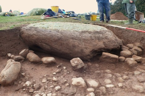 Long Meg excavation 021