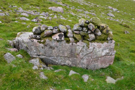 Crummock slabs, Ling Crag; Dodd Cairn; Gale Fell; Gable moonrise 037