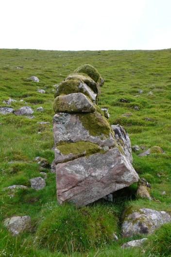 Crummock slabs, Ling Crag; Dodd Cairn; Gale Fell; Gable moonrise 039